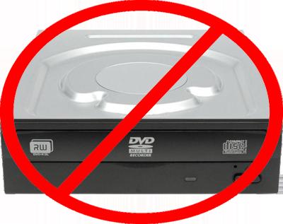 Не работает дисковод